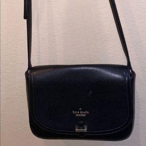 Black Kate spade shoulder strap purse